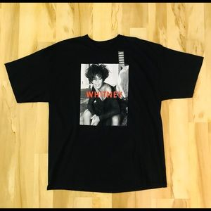 Whitney Houston T-shirt Men's Size XXL NWOT Black